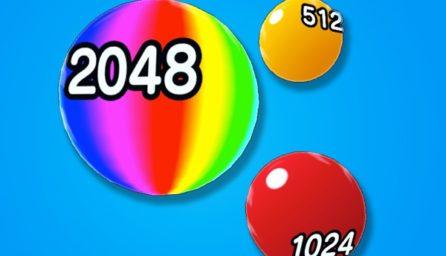 Ball Bustle 2048